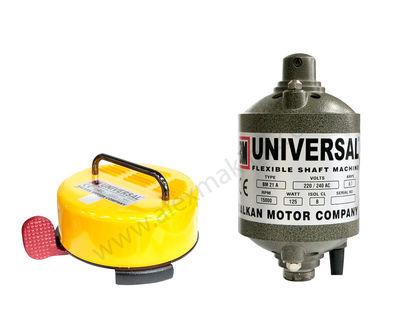 Universal Sprial Motor 25000 Devir Sarı Pedallı